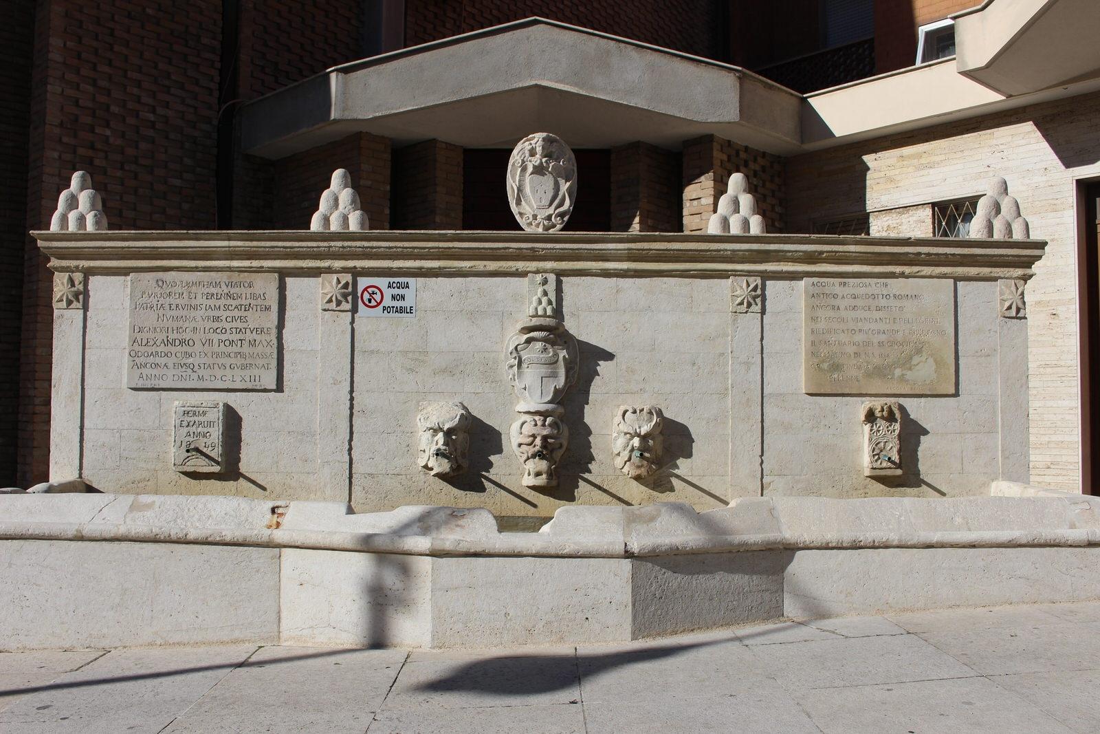 Numana Fonte romana