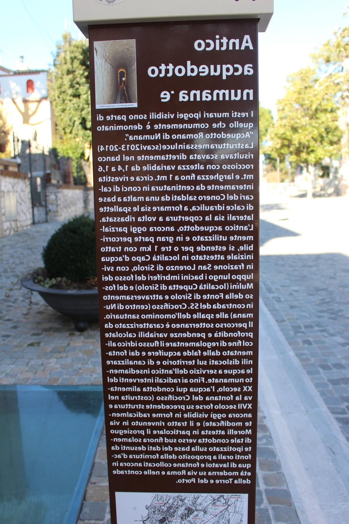 Segn Acquedotto romano