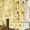 La basilica-fortezza: percorso dei camminamenti militari di ronda e della basilica di Loreto